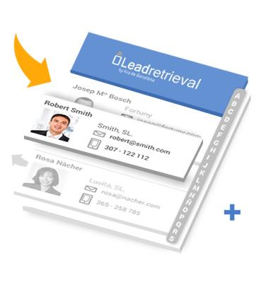 Lead Retrieval Fira Barcelona Interface