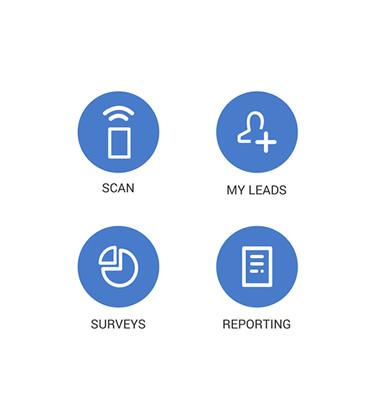 Lead Retrieval Icons